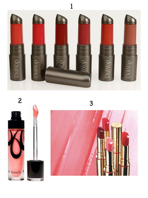 fall glosses with numbers