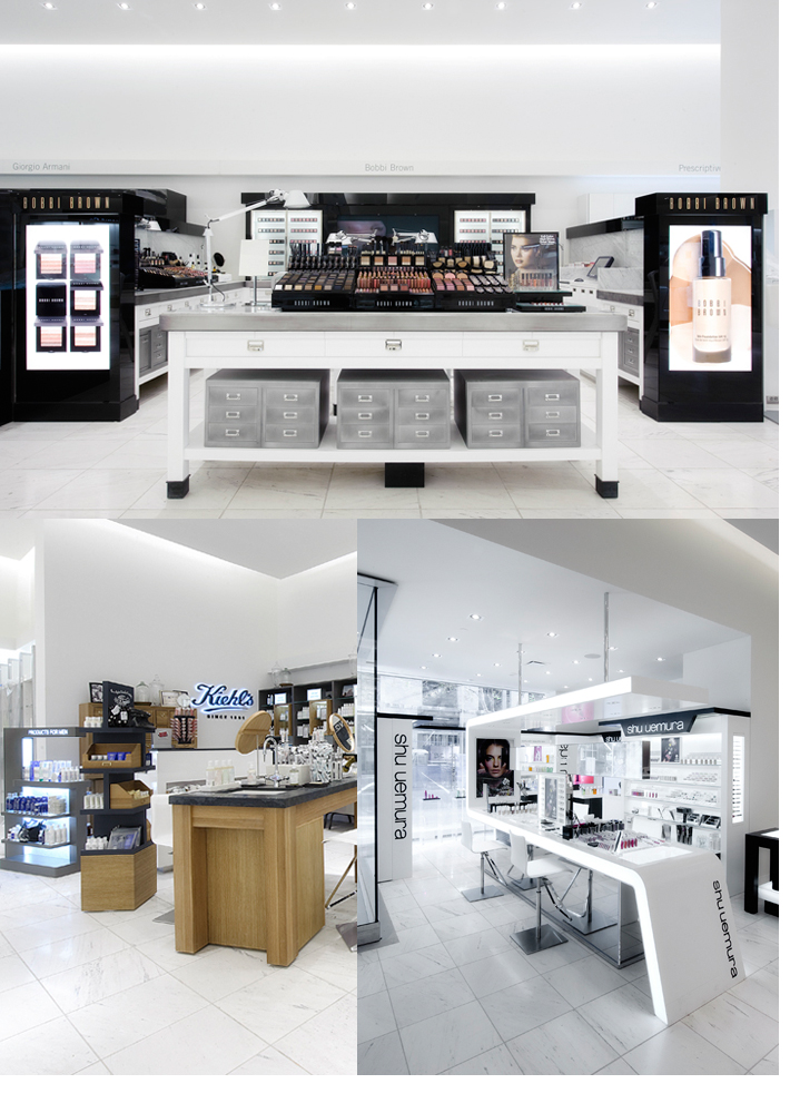 holts beauty depts
