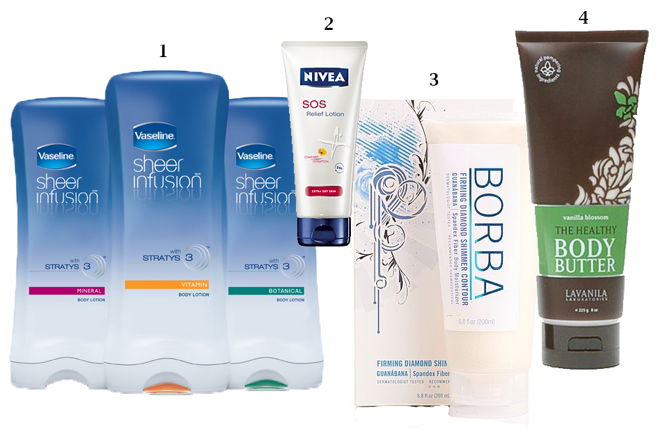 lotions with numbers