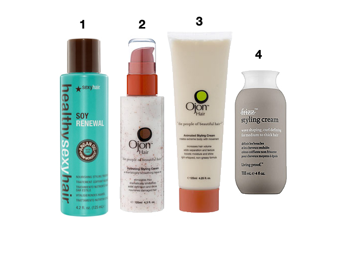 Curly Hair Styling Cream Best Styling Products For Curly Hair  Canadian Beauty