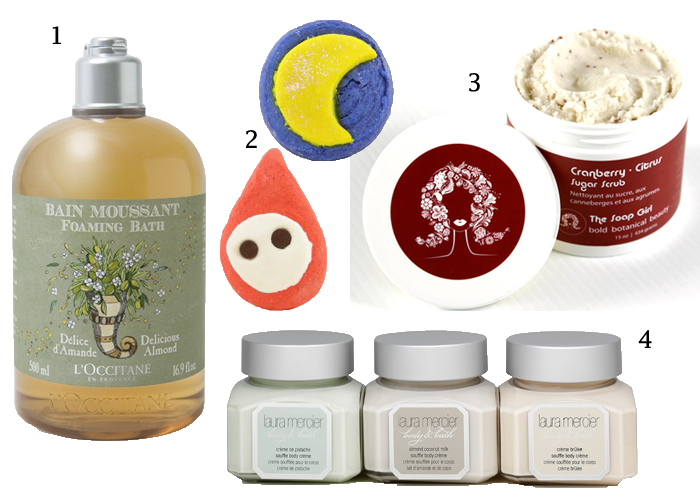 pampering products