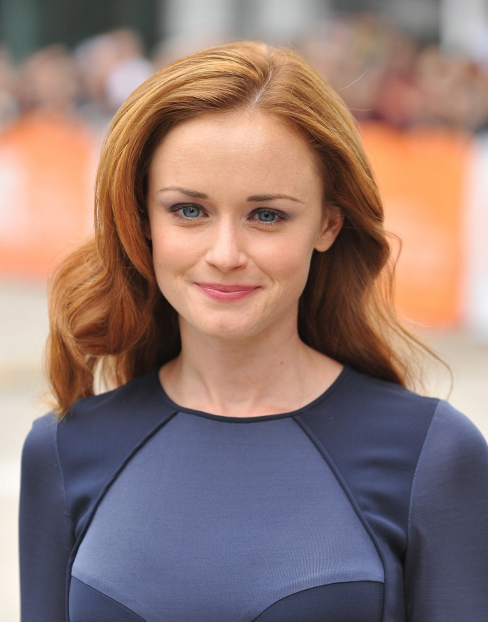 Alexis Bledel At Tiff Canadian Beauty