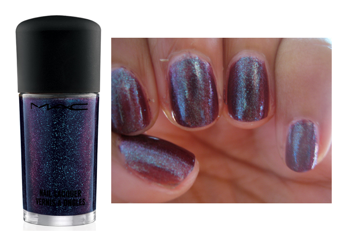 Nail Swatch: MAC Formidable from Venomous Villains | Canadian Beauty