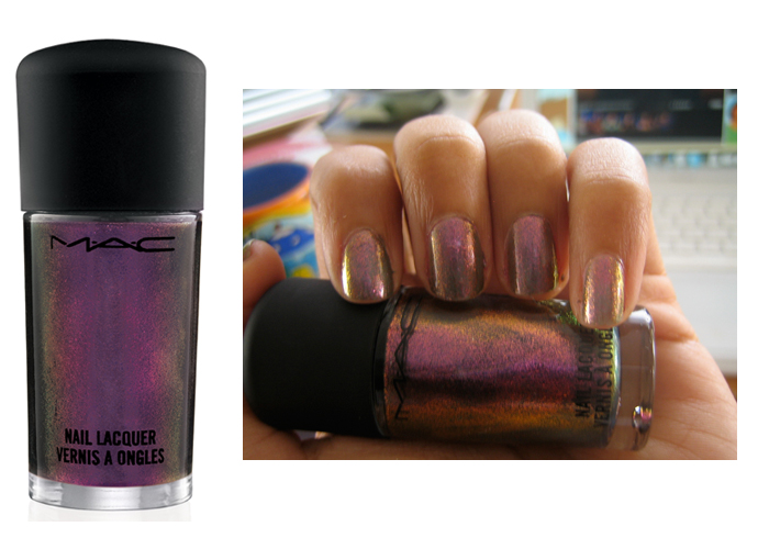 Nail Swatch: MAC Mean and Green from Venomous Villains | Canadian Beauty