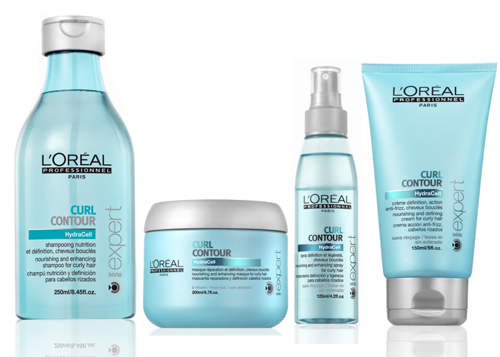 New l oreal professional curl contour line canadian beauty for Loreal salon hair products