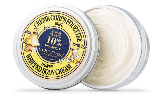 L'Occitane Honey Whipped Body Cream