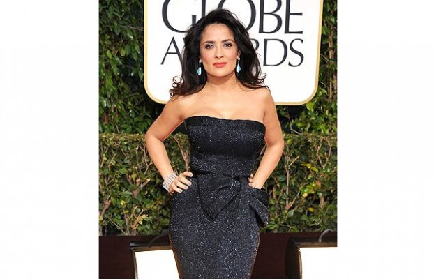 Salma Hayek at the 2013 golden globes copy