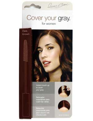 CoverYourGrayDarkBrownBrush