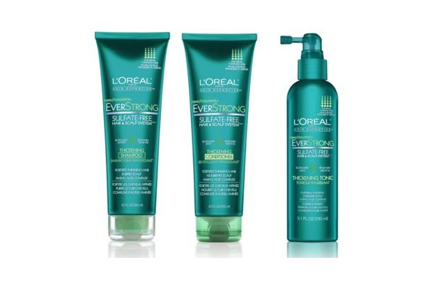 L'Oreal Everstrong Thickening Shampoo, Conditioner, and Thickening ...