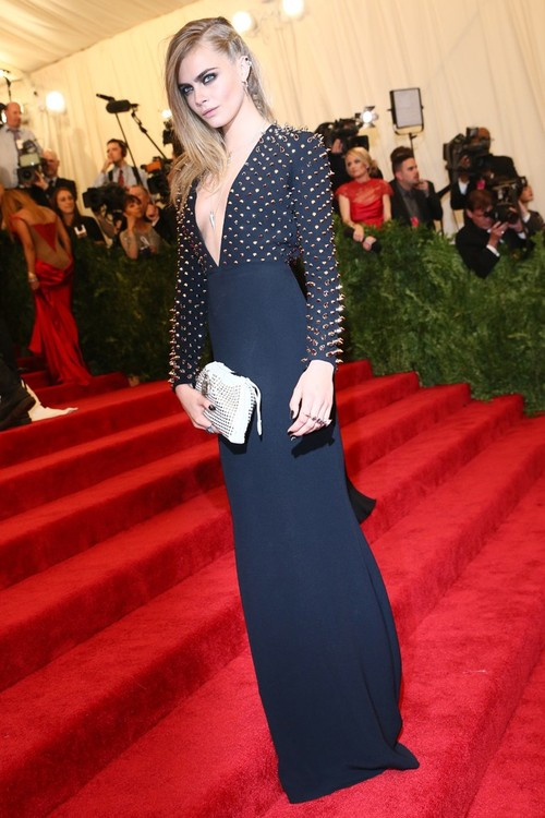 Cara Delvigne at MET Ball