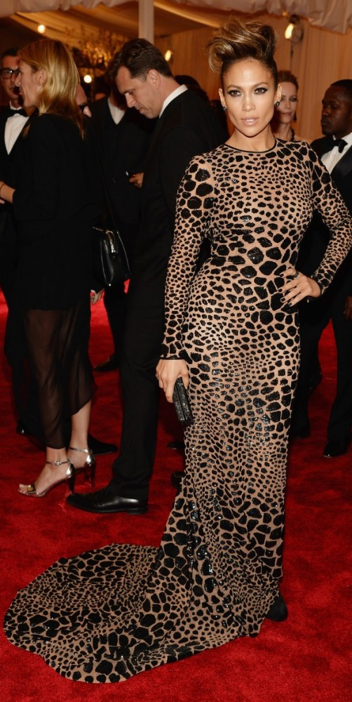 jennifer lopez at the met ball canadian beauty