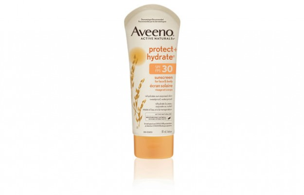 Aveeno Protect and Hydrate sunscreen