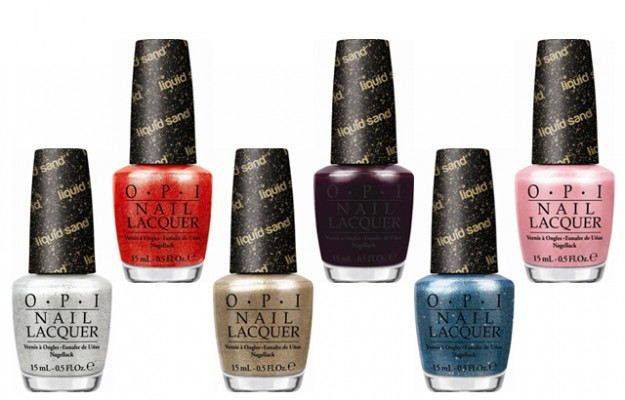 OPI Liquid Sand collection