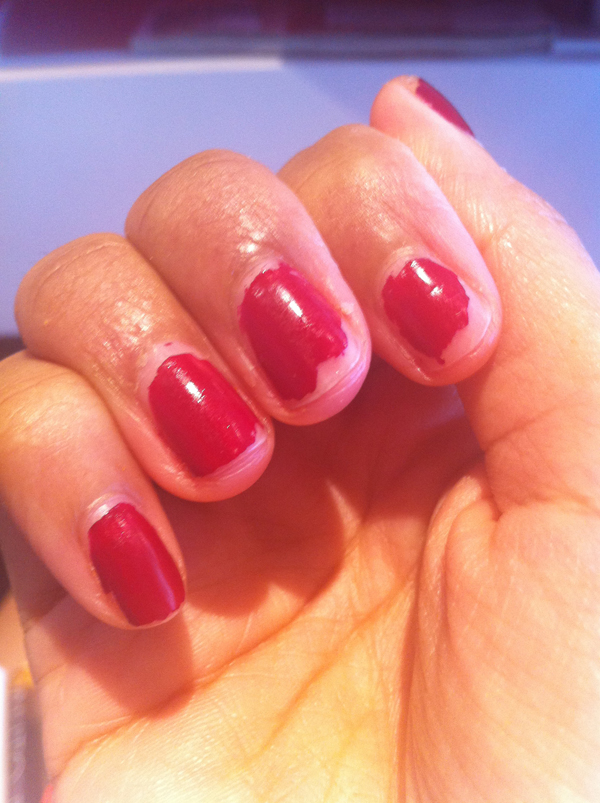 tinted love after 7 days