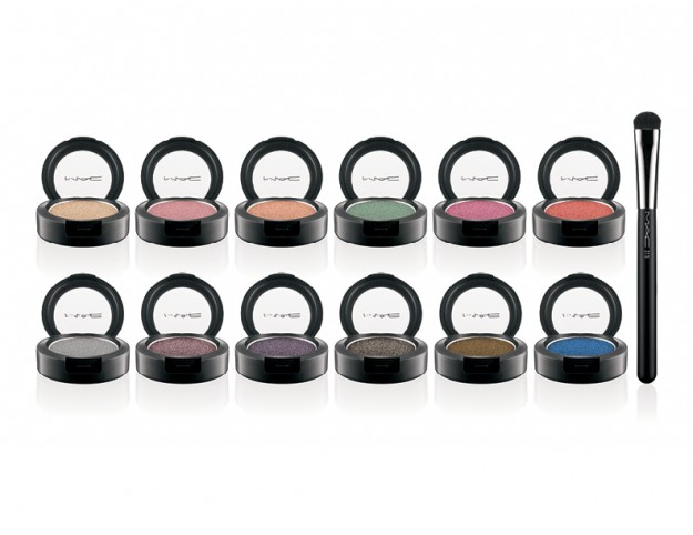 MAC Pressed Pigments lineup