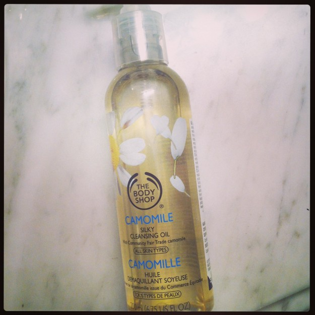 the body shop silky cleansing oil