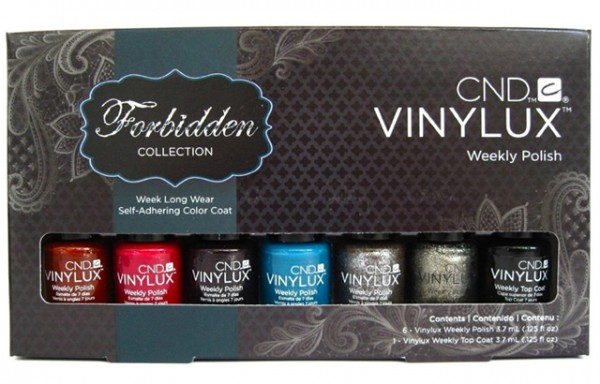 cnd vinylux forbidden mini collection
