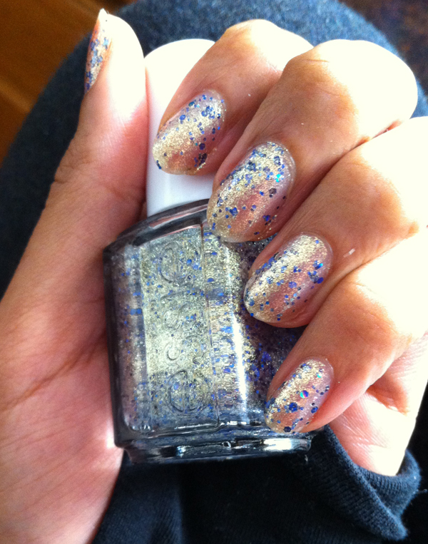 essie on a silver platter
