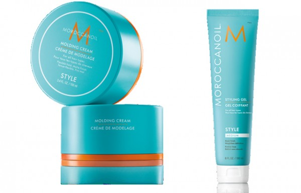 moroccanoil styling gel and molding cream