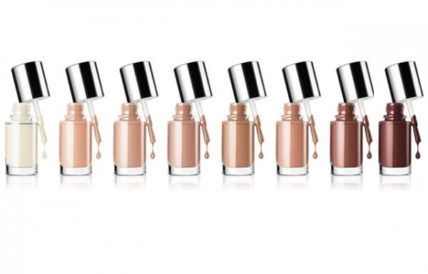 clinique shades of beige nail polishes