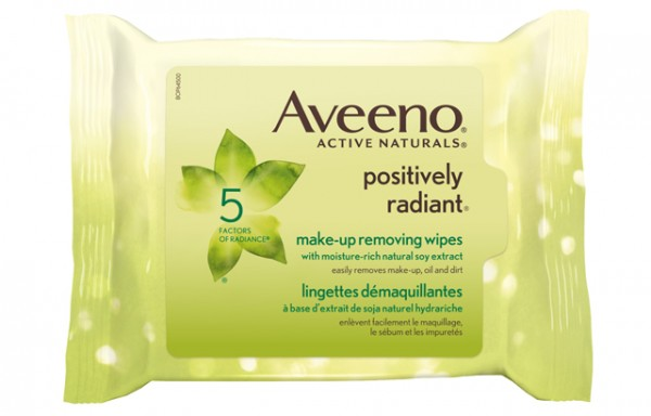 Aveeno Positively Radiant Makeup Removing Wipes