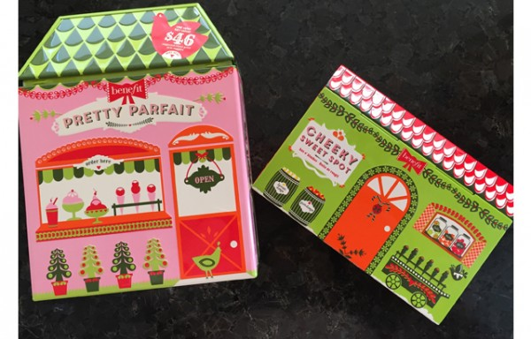 Benefit Christmas Packaging
