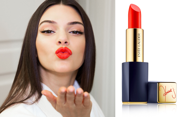 New limited edition kendall jenner lipstick from estee lauder