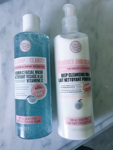 Soap and glory cleansers