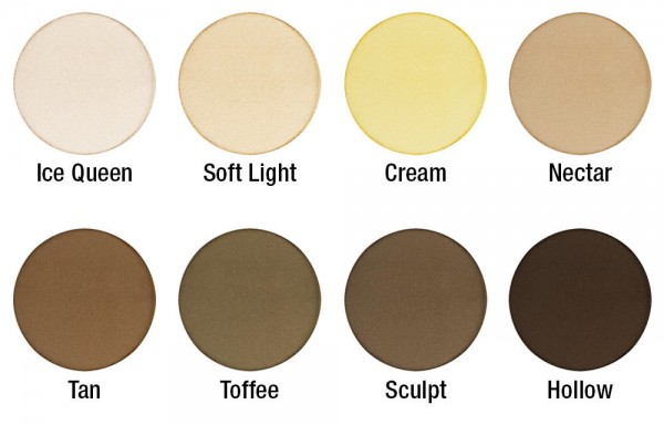 Highlight and Contour Pro Shades