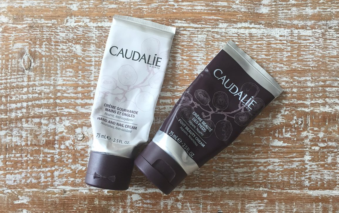 caudalie foot cream