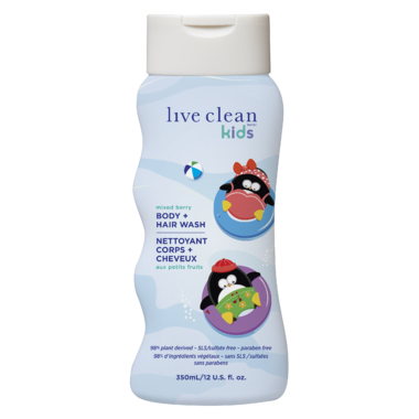 live clean kids shampoo