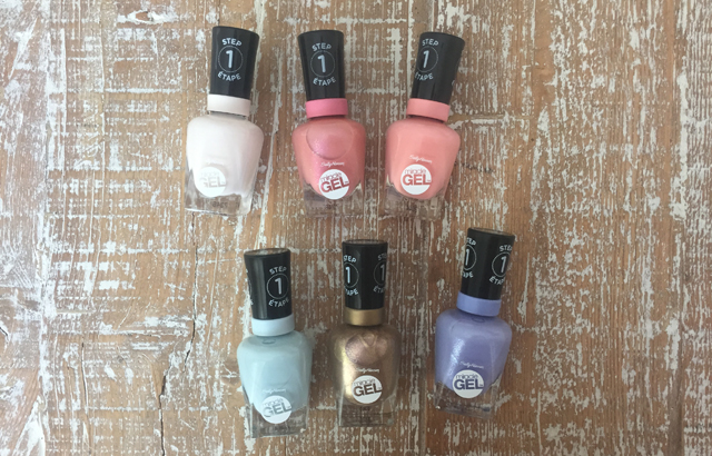 Pastel Punk Nailpolish Collection by Miracle Gel | Canadian
